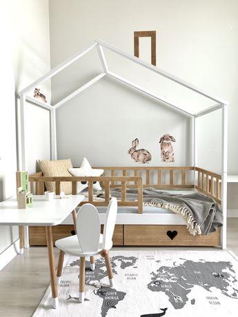 В НАЛИЧИИ! Дубовая кровать домик,детская кровать,ліжко будинок 160*80