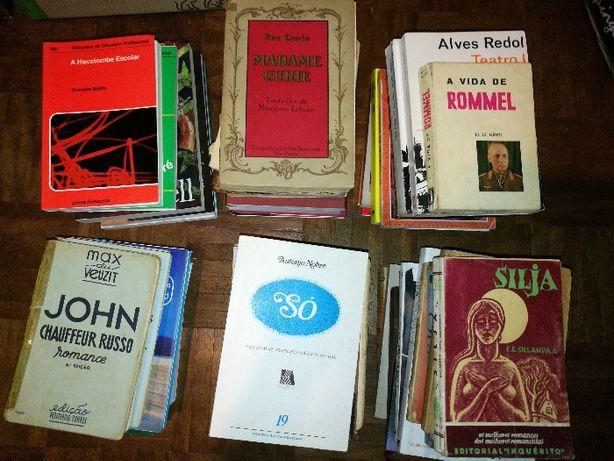 Lote de livros - Nacionais e internacionais