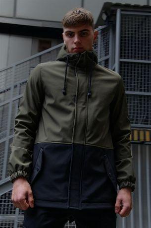Куртка мужская Soft Shell | ветровка спортивная весенняя демисезонная