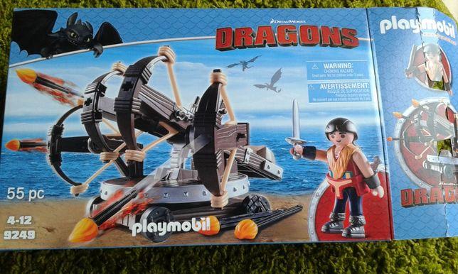 Playmobil 9249 JAK NOWE Eret z ognistymi strzałami Dragons klocki