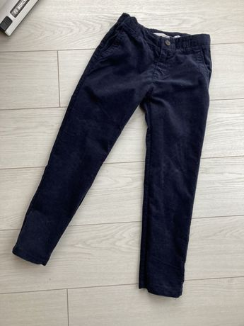 Spodnie sztruks h&m 122 eleganckie