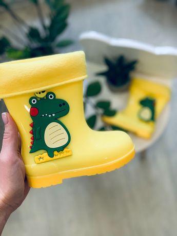 25-29р Резинові чоботи дитячі Резиновые сапоги сапожки детские