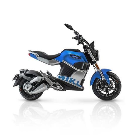Motocykl elektryczny Miku Super iamelectric Vmax 75km/h! niebieski