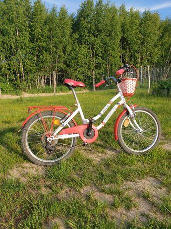 Rower 20 cali dla dziewczynki