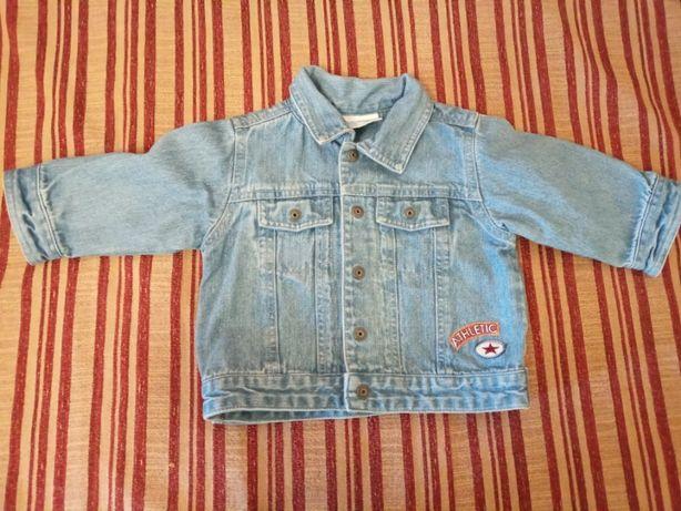 Куртка джинсовая. 6-9 мес