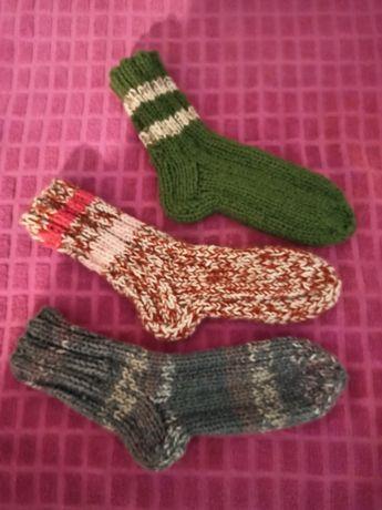 Носки детские вязаные