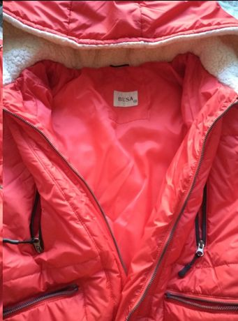 "Зимняя куртка для беременных ""Бомбер""."