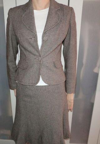 Костюм женский пиджак юбка размер S-M
