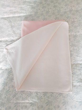 Colcha de algodão para cama de grades