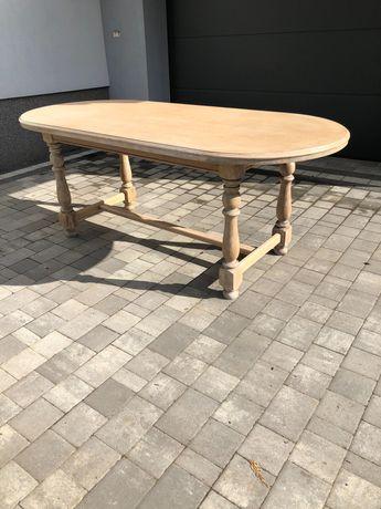 Stół dębowy drewniany
