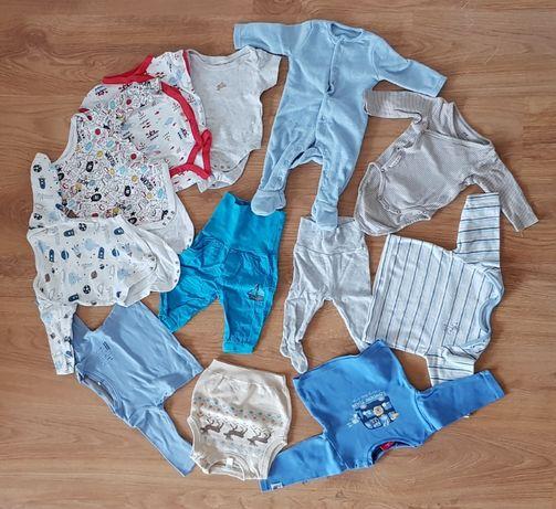 Mega zestaw ciuszków niemowlęcych - chłopięcych