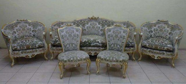 Kanapa 3 dwa fotele dwa krzesełka