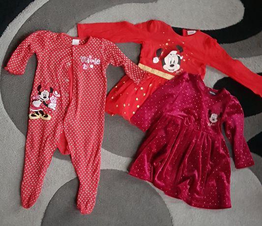 Ubranka dla dziewczynki r. 74-80