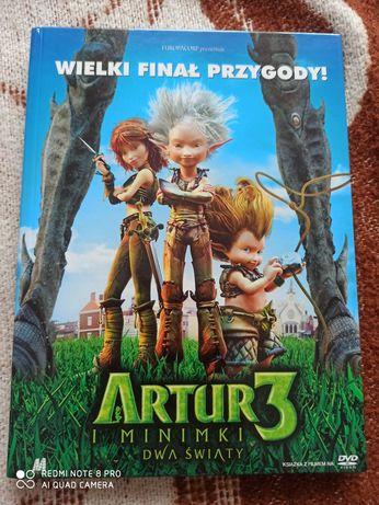 Artur i Minimki 3 Dwa światy DVD nowe bez folii