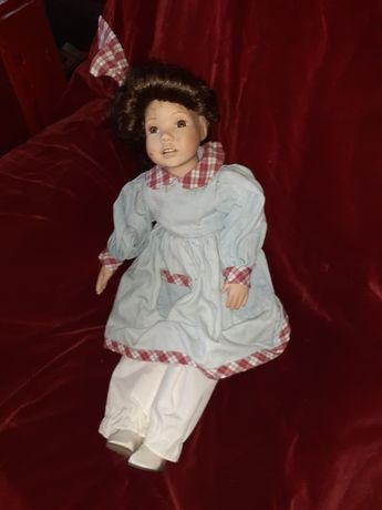 Stara lalka z porcelany duża antyk Niemcy