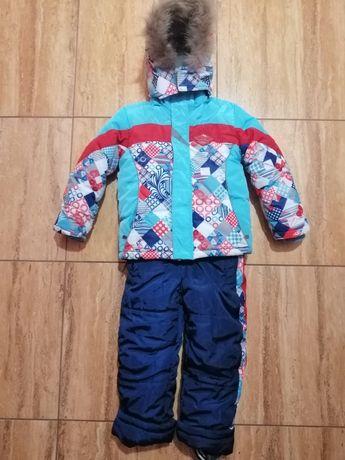 Зимний термо комбинезон для деток на рост 80-100 см