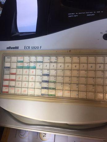 Maquina registadora olivetti