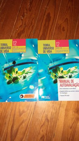 Terra, universo de vida manual e manual de autoavaliação 12