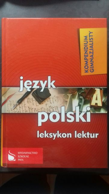 Kompendium gimnazjum język polski