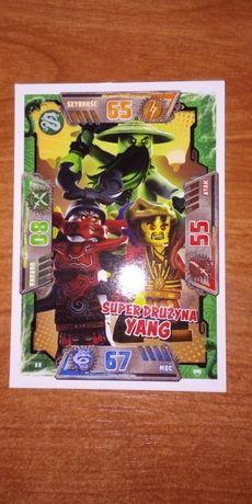 Karty Lego Ninjago 2 i 4 Łowcy Smoków