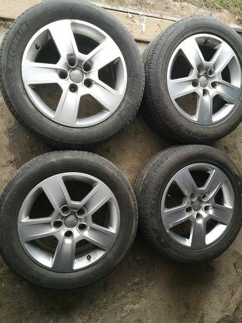 "Ori felgi Audi a4 b6/b7 5x112 16"" Michelin 17r"