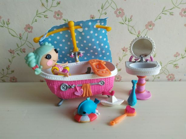 Minilalaloopsy. Набор Лалалупси. Ванная комната морячки.