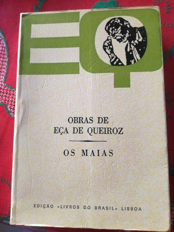 Os Maias livro do escritor Eça de Queiroz