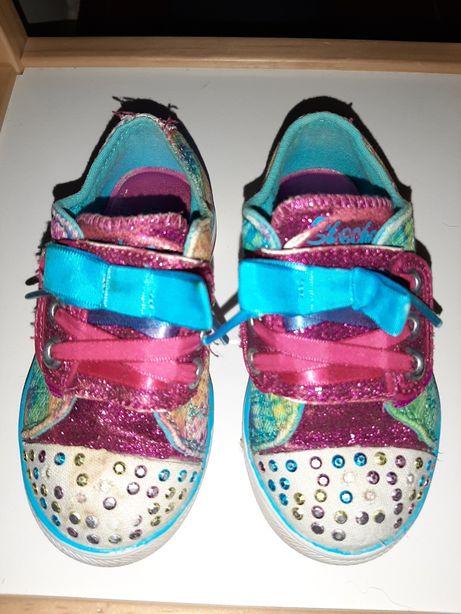 Sapatilhas da Skechers de menina n.22