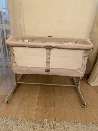 Приставная детская кроватка колыбель Chicco