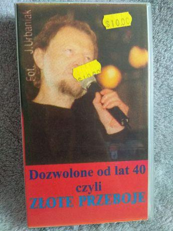 Dozwolone od lat 40 czyli zlote przeboje kaseta vhs video 1998