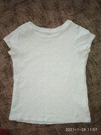 блузка футболка Carter s на 7 лет