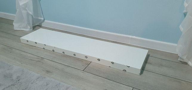 LACK Półka ścienna IKEA biała połysk