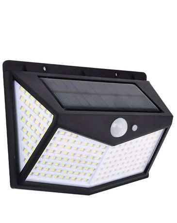 Lampa solarna z czujnikiem ruchu i zmierzchu 212 LED
