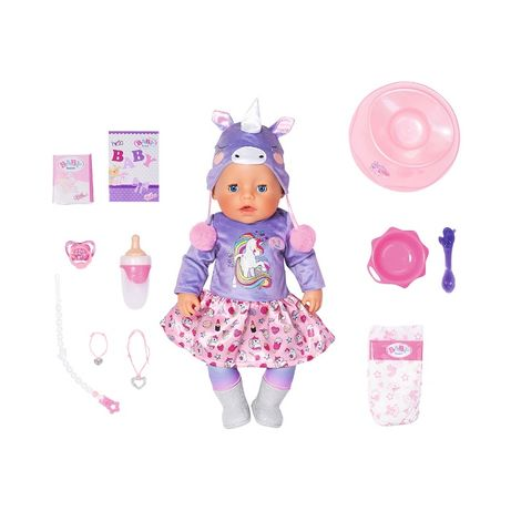 Кукла Zapf Baby Born Нежные обьятия Милый Единорог 828847
