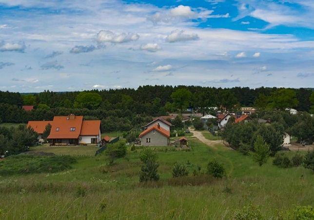 Działka inwestycyjna uzbrojona Olsztyn - Giedajty przy głównej drodze