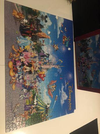 Puzzle Disney 1000 z brakami