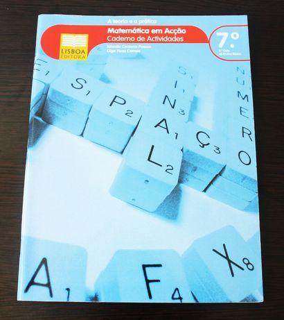 Caderno de atividades Matemática em Acção 7.º Ano
