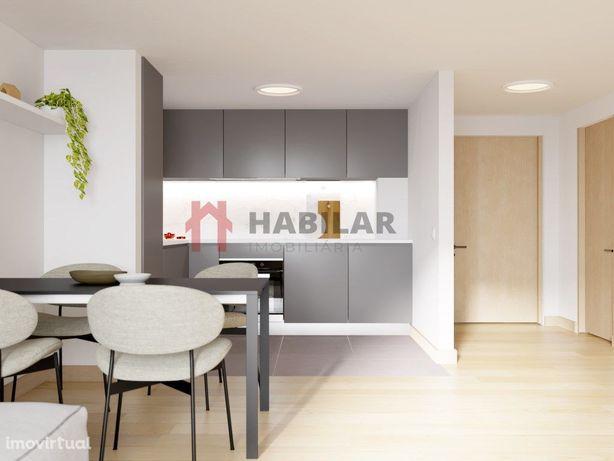 Apartamento T2 c/Terraço - Gaia