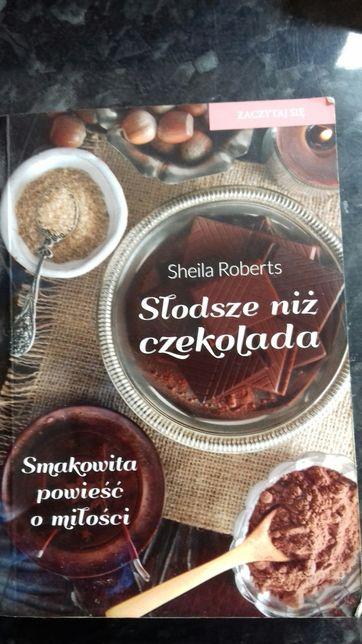 Książka Słodsze niż czekolada