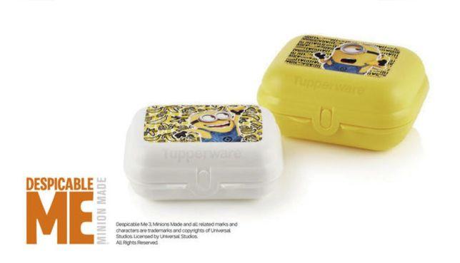 Ostras Minions - Tupperware