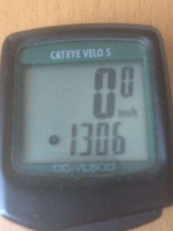 Conta quilómetros Cateye velo 5 / VL500 (só o mostrador)