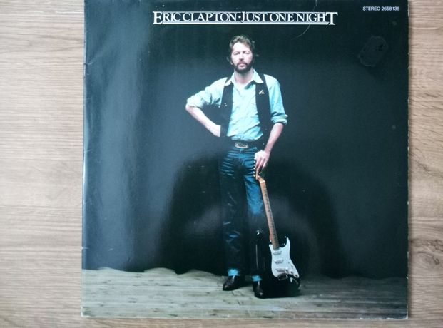 Eric Clapton just one night 2 x lp.