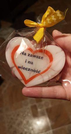 Walentynki mydelka glicerynowe prezent upominek