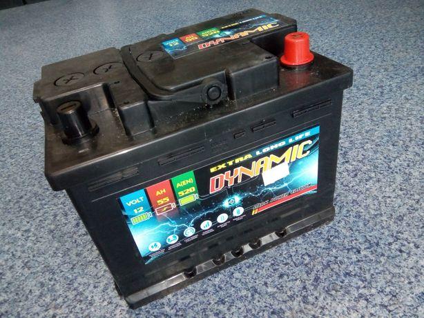 Akumulator DYNAMIC 12V 55Ah 520A Jasło