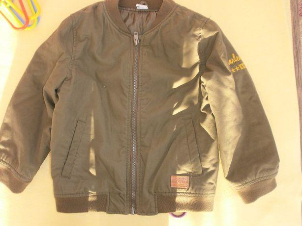 zestaw kurtka bomerka + spodnie fF F r 116/122 5-6 lat wojsko moro