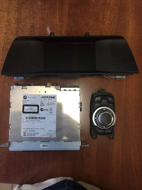 CIC, Bmw F10 F11, система, монитор, джойстик, блок