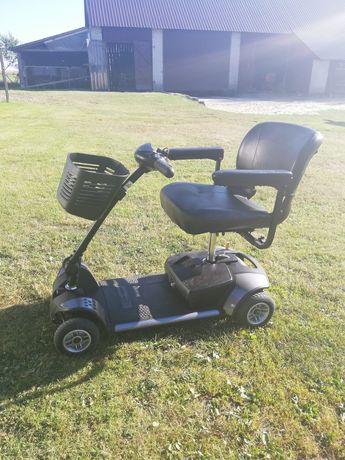 Elektryczny wózek inwalidzki zamiana