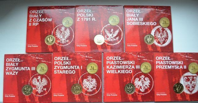 Монеты Польши,2011, мондвор-серия Орлы польских королей, комплект