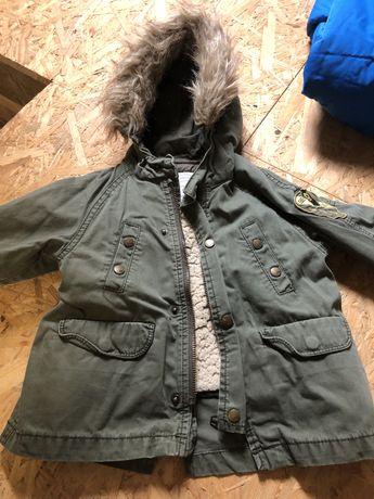 Kurta zimowa Zara rozmiar 80