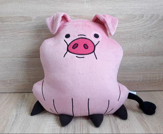 Мягкая игрушка - подушка свинка Пухля из Гравити Фолз